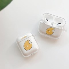싼미니 파인 레몬 에어팟케이스