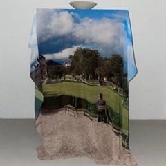 ULH 쉬폰 포스터 - Le jardin du Luxembourg