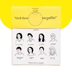 [맥거핀페이퍼] 한가족 스티커