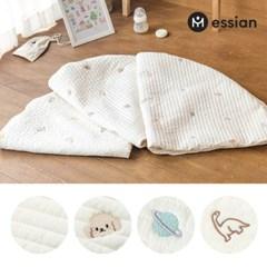 에시앙 모데즈 누빔 자수 아기 원형러그용 커버 8종 (디자인선택)