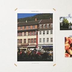 [Heidelberg] A3 마치스가든 유럽 포스터 독일 하이델베르크