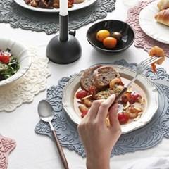 벨류세라믹 아멜리아 실리콘 테이블 식탁매트 30종 6color