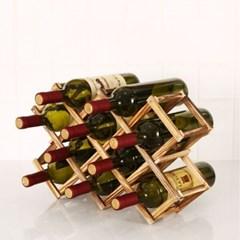 와인 접이식 거치대 원목 와인 보관 우드 와인랙 와인진열장