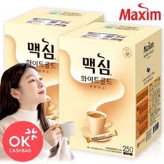 맥심 화이트골드 250Tx2개 /커피믹스