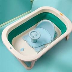 유아 아기 목욕 욕조 의자 핸들 등받이 샤워 바스체어 H