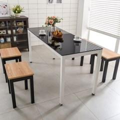 T7 로디 1800 철제 6인식탁 식탁세트 식당테이블 식탁