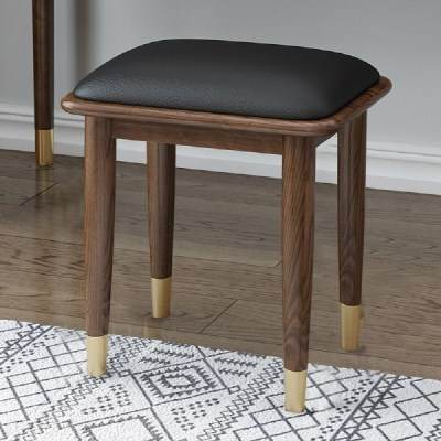 [아이니샵] 북유럽풍 원목 화장대 의자