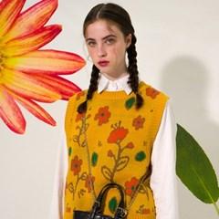 Flower Garden Vest(SUN FLOWER)