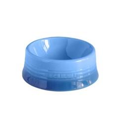 르쿠르제 강아지 고양이 식기 도자기 밥그릇 B 블루