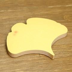 ginkgo leaf 접착메모지