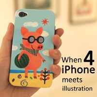 [EPICASE] Art case for iphone 4, Daisy