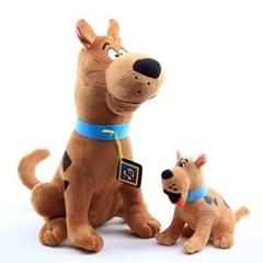 스쿠비 두 강아지 캐릭터 봉제 인형 쿠션  H