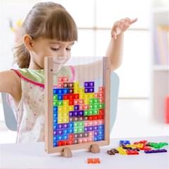 아동 펜토미노 도형 퍼즐 테트리스 블록 놀이 장난감  H