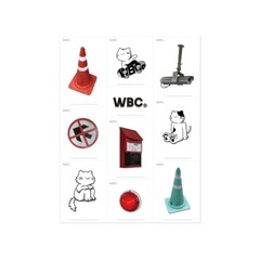 와일드 오브젝트 스티커 01