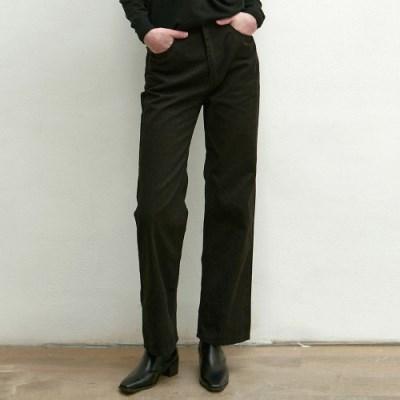 STRAIGHT COTTON PANTS_BLACK