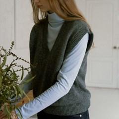 [11/8 예약발송] Crunch knit vest