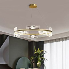 boaz 크라운링(LED) 식탁등 거실등 홈 인테리어 조명