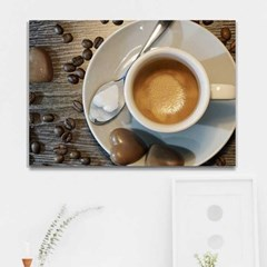 주문제작 액자 El Cafe 캔버스841x594x30mm CH1773680