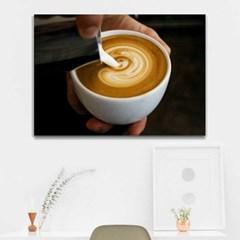 주문제작 액자 El Cafe 캔버스841x594x30mm CH1773645