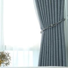 뷰하우스 루이즈 맞춤형 암막커튼 대창형 세로251~340cm까지
