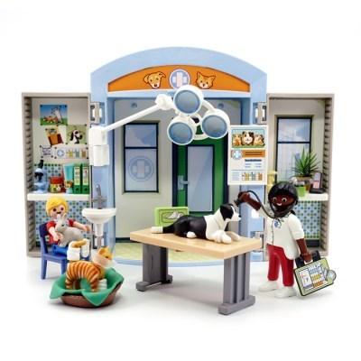 플레이모빌 플레이박스-동물병원(70309)