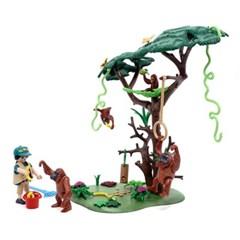 플레이모빌 오랑우탄과 나무(70345)
