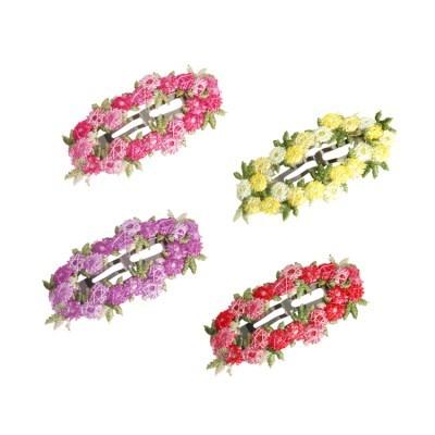 [마미버드] 꽃송이 니트핀 (4color)
