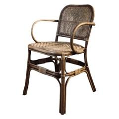 포베이 라탄 팔걸이 의자[SH003238]