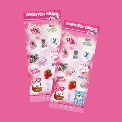 2000s Vibe Sticker_Pink