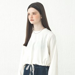 STRING CROPPED TS_IVORY