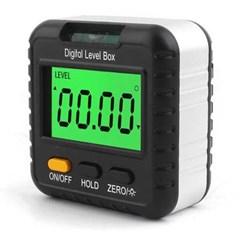 360도 자석 Digital Level Box 0.01단위 배터리미포함
