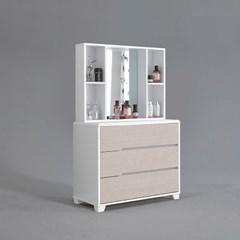 피너 화장대 세트 거울 포함 (착불)