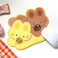 [자꾸자꾸] 버터쿠키 토끼 마우스패드