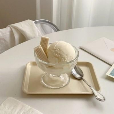 앨리나 유리 디저트볼(요거트 아포가토잔 아이스크림 홈카페)
