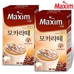 [맥심] 맥심 카페 모카라떼 10T+10T /커피