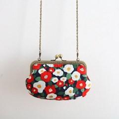 18cm 조개 가방 만들기 퀼트 다트 파우치