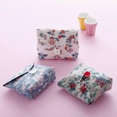 꽃 파우치 만들기 봉투파우치 생리대파우치 화장품주머니