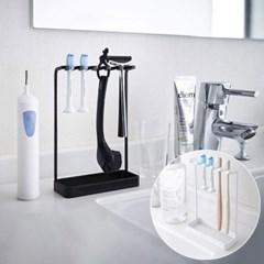 면도기 칫솔 양치컵 꽂이 걸이 치약짜개 욕실 선반