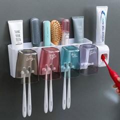 욕실 치약짜개 칫솔 양치컵 면도기 꽂이 선반 걸이