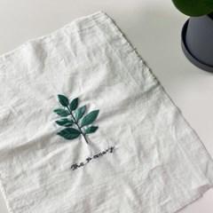 동감자수의 나뭇잎 패브릭 포스터 만들기