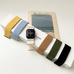 애플워치 스포츠 프리 스트랩 루프 밴드 시계줄 44mm