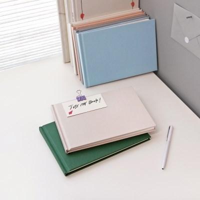 Blank book(oblong)