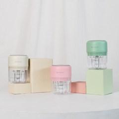 코슬리 무선 미니다지기 캠핑 차박 휴대용 (아이보리, 핑크, 그린)