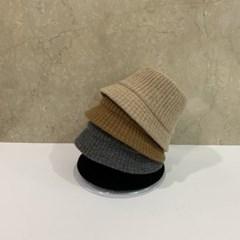 골지 기본 심플 브라운 블랙 패션 버킷햇 벙거지 모자