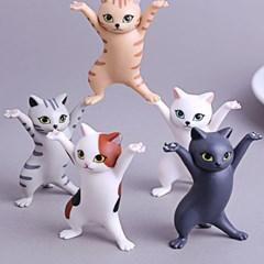 고양이 이어폰 거치대 소품 펜홀더 피규어 DD-10955