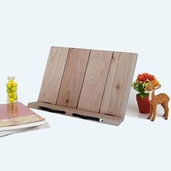 P301 1단 편백나무 독서대 에이스독서대 신제품 각도조절 원목