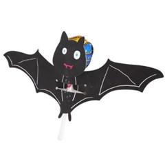 할로윈 핑크 박쥐 사탕페이퍼 8개 (2set)
