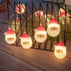 40구 LED 산타 가랜드 전구(3M) 크리스마스조명