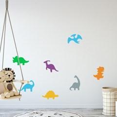 아이방 벽면 꾸미기 공룡 데코스티커