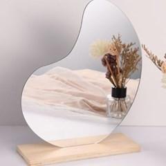 아크릴 안전 인테리어 미러 노프레임 거울 DD-11150